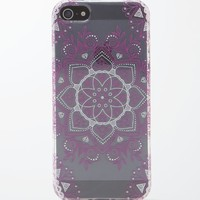 With Love From CA Burgundy Mandala iPhone 5 Case - Womens Scarves - Red - One