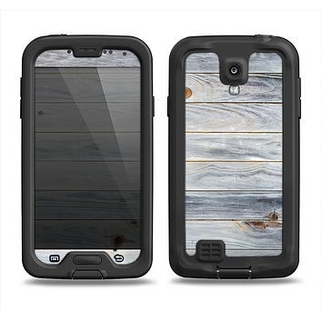The Light Tinted Wooden Planks Samsung Galaxy S4 LifeProof Fre Case Skin Set