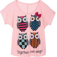 Together, Owl Ways Tee S/S Tee
