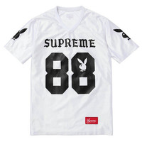 SUPREME PLAYBOY FOOTBALL TOP AUTHENTIC - A Very Based You