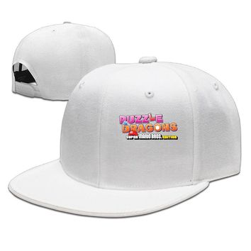 The Super Mario Bros Logo Printed Unisex Adult Womens Hip-hop Hat Mens Fitted Hats