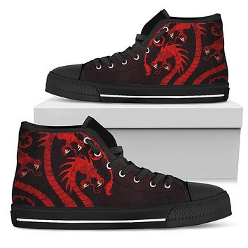 Ladies Targaryen Canvas High Tops