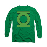 Green Lantern Symbol Mens Long Sleeve T-Shirt