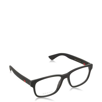 Gucci GG 0011O Square Eyeglasses 53mm