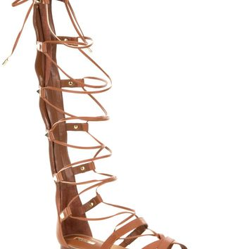 Guess Mylanie 3 Gladiator Ghillie Sandals | Dillards