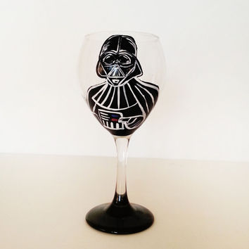 Star Wars Wine Glasses – Darth Vader Wine Glass