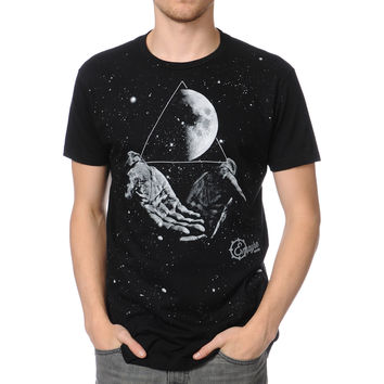 Empyre Galaxy Hands Black Tee Shirt