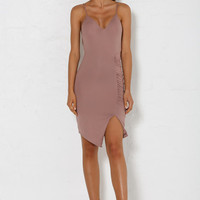 Analia Midi Dress - Dusty Pink