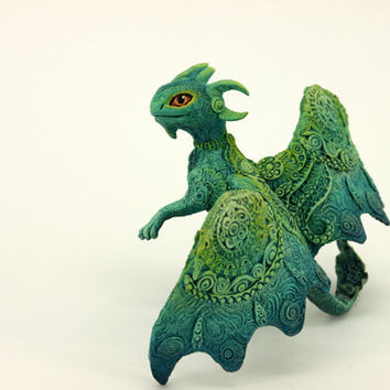 Dragon Figurine RGL-project Sculpture Fantasy