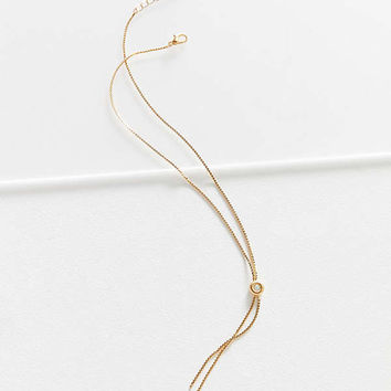 Opal Stone Lariat Necklace | Urban Outfitters