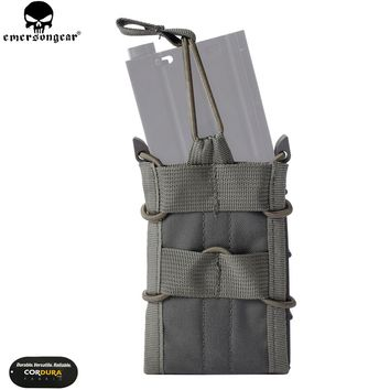 EMERSONGEAR Single Unit Magazine Pouch M4 M14 AK G3 Molle Pouch Tactical Military Nylon Holster Foliage Green Coyote Brown