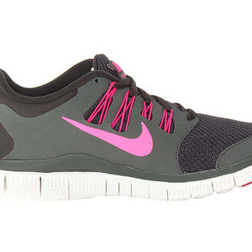 Nike Free 5.0+ Charred Grey/Mercury Grey/Summit White/Pink Foil - Zappos.com Free Shipping BOTH Ways