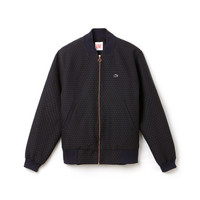Lacoste LIVE Harrington jacket in jacquard