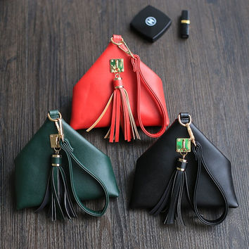 Stylish Tassels Vintage Phone Mini Purse [6048253505]