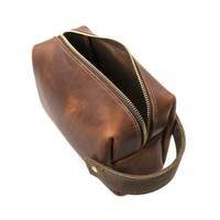 RUSTICO HIGHLINE LEATHER POUCH LARGE