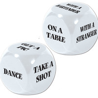 21st Birthday Decision Dice Game - 12 Pack Case Pack 12