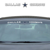"Dallas Cowboys 35""x4"" Windshield Decal"