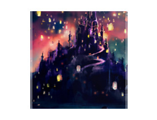 Disney Tangled Castle Lights iPhone