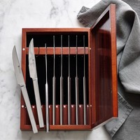 Wüsthof Stainless-Steel 8-Piece Steak Knife Box Set