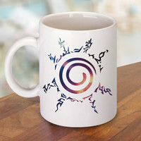 Naruto Kyuubi Seal Nebula Galaxy Mug and Cup / Custom Mug / Custom Cup