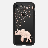 HAPPY ELEPHANT ROSÈ by Monika Strigel iPhone 7 Hülle by Monika Strigel | Casetify