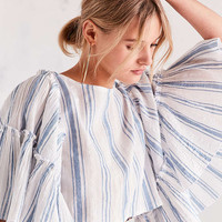 Kimchi Blue Raine Bell-Sleeve Blouse - Urban Outfitters