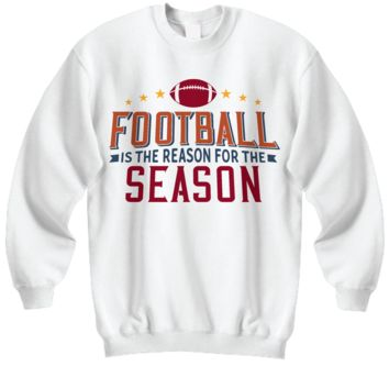 Football Sweatshirt  Football Lover Gift  Football Mom Dad  Gift for boyfriend Football Fan