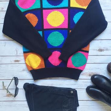 Circles Vintage Sweater