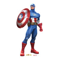 Captain America Marvel Contest Of Champions Cardboard Standup