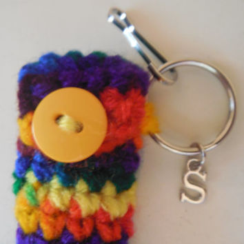 Add A Charm to Any Lip Balm Holder, Initial Charm Add-On, Mom - Grandma - Aunt - Sister Charm added to any lip balm holder