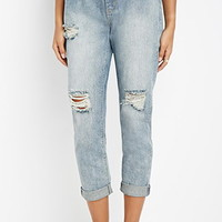 Life in Progress Distressed Boyfriend Jeans