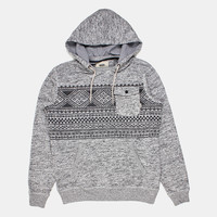 Vans Flurry Ii Pullover Hoody - Lunar Rock Heather at Urban Industry