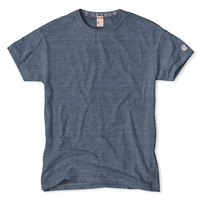 Classic Crew T-Shirt in Blue Heather