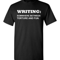 Writing: Somewhere Between Torture and Fun