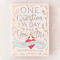 One Question a Day for You & Me: A Three-Year Journal By Aimee Chase | Urban Outfitters