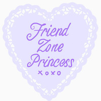 Friend Zone Princess Sticker
