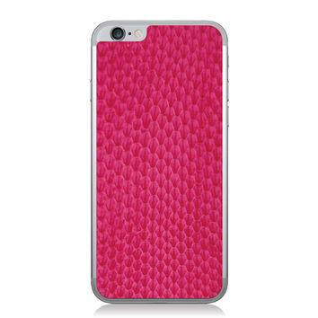 Fucsia Whip Snake iPhone 6 Leather Back