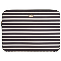 "kate spade new york Fairmont Stripe 13"" Laptop Sleeve"