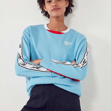 Reebok Colorblock Vector Crew-Neck Sweatshirt | Urban Outfitters