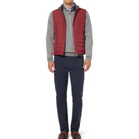 Canali - Regular-Fit Garment-Dyed Stretch-Cotton Jeans | MR PORTER