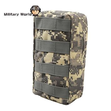 Airsoft Sport Military 600D MOLLE Utility Tactical Vest Waist Pouch Bag For Outdoor Hunting Vest Belt Wasit Pack Equipment