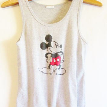 Vintage 1990's Mickey Mouse Tank Top