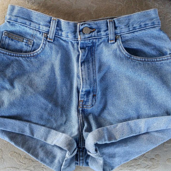 Bow Pocket Shorts, Calvin Klein, 8, Pinup Cute