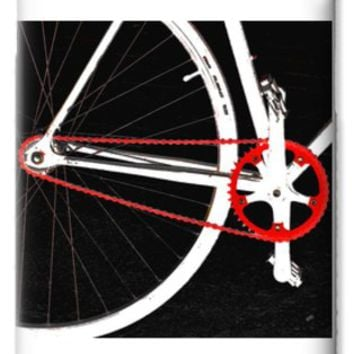 Bike In Black White And Red No 2 iPhone 6 Case for Sale by Ben and Raisa Gertsberg