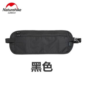 Fitness Running bag Brand NatureHike outdoor travel deluxe multi-packet wallet invisible Waist  Belt light thin mobile phone thefth stealt wallet