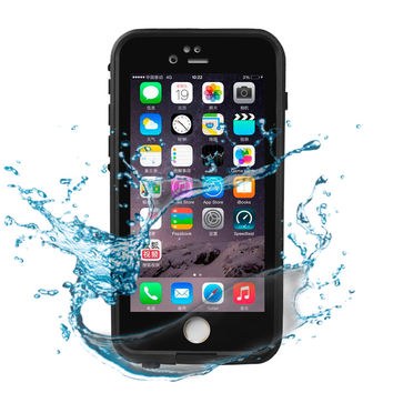 2017 New Hybrid 360 Degree Full Body Protective IP65 Life Waterproof Shockproof Dirt Proof Cover Case for iPhone 6 / 6S 4.7inch