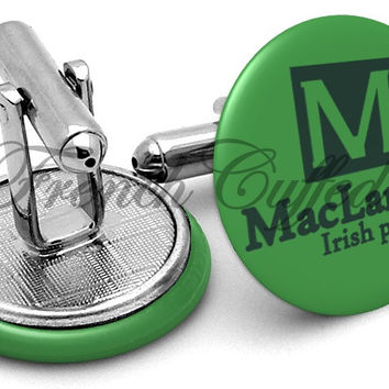 Maclarens Irish Pub Mother Cufflinks