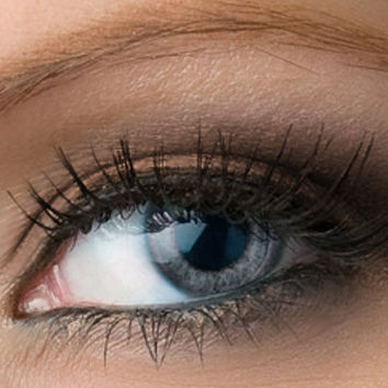 "Taupe Matte Eyeshadow - ""Skylark"" - Grey Brown Vegan Mineral Eyeshadow Net Wt 2g Mineral Makeup Eye Color Pigment"