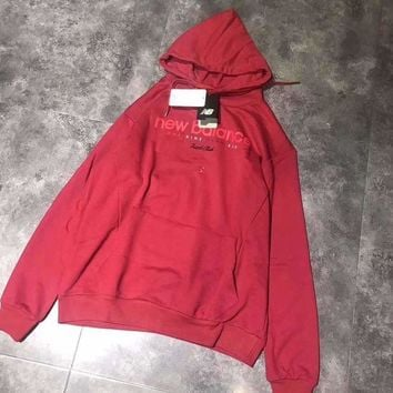 DCCKNQ2 New Balance Lover Unisex Casual Top Sweater Hoodie Pullover-2