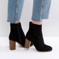 ASOS ELITA Heeled Ankle Boots at asos.com